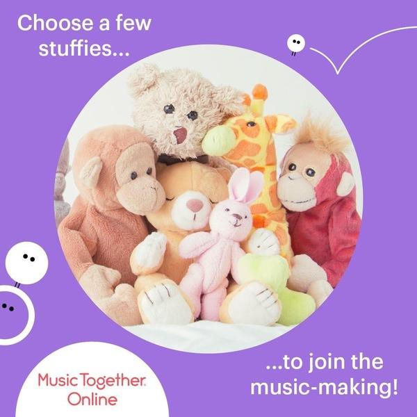 Music Together春ターム オンラインレッスンにて開講しました。