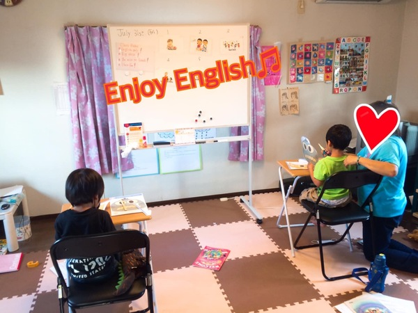 【Enjoy English ♫お楽しみcraft time】