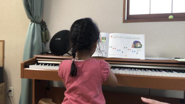 佐野教室のピアノレッスン